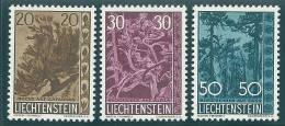 LIECHTENSTEIN  1960  Mi. 399/401  MNH - Liechtenstein
