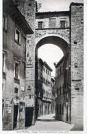 """Cartolina  D´epoca  """" VOLTERRA -  """" Casa Torre Castellucci (sec.XII) """" - Pisa"""