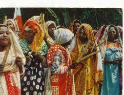 7 Tonus Indigene Livingstone P. Used Dzaoudzi  Comoros 3 Stamps - Comores