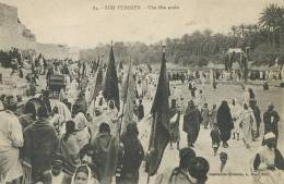 Sfax Imp. Moderne A. Muzi 84 Sud Tunisien Une Fete Arabe - Tunisie