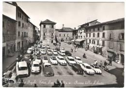 CASTIGLIONE DEI PEPOLI BOLOGNA PIAZZA DELLA LIBERTA´ ANIMATISSIMA 1965 - Bologna