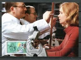 "Germany ,Allemagne 1986 Mi.Nr.1274 Maximumcart"" Handwerksberufe-Augenoptiker,Jugendmarke "" 1 MC Used - Factories & Industries"