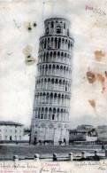 """Cartolina  D´epoca  """" Pisa - Il Campanile I"""" - Pisa"""
