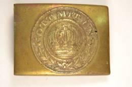 Boucle De Ceinturon Allemande Première Guerre Mondiale, Pièce De Fouille - 1914-18