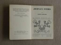 Baudelaire Journaux Intimes La Porte Etroite N° 6 Lettres Françaises Buenos Aires 1944. Voir Photos. - Livres, BD, Revues