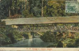 183 Bridge In Virgine Jungle Covered Bridge Pont Couvert P. Used Perak Ipoh A. Kaulfuss Penang - Malasia