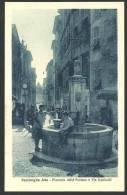 IT60 VENTIMIGLIA ALTA Piazzetta Della Fontana E Via Garibaldi. Lorenzo Giavelli No 100949 - Non Classés