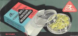Buvard Pharacieutique  Delagrange Vitamine B12 - Produits Pharmaceutiques