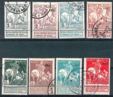 N° 92-99 OBLITERES - 1911 - 1910-1911 Caritas