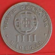 ANGOLA  4  MACUTA  1927   KM# 68  -    (760) - Angola