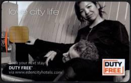 THE NETHERLANDS - AMSTERDAM - EDEN CITY HOTELS - LOVE CITY LIFE - DUTY FREE - Chiavi Elettroniche Di Alberghi