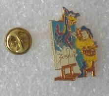 BURQUIER PEINTRE       DDD     062 - Badges