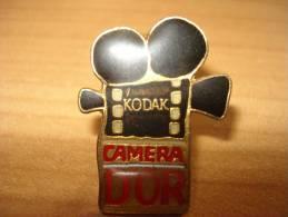Pin´s Kodak Camera D'or - Fotografia
