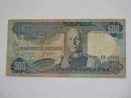 500 - Quinhentos - Escudos  1972 - ANGOLA - Banco De Angola - Angola