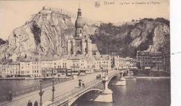 Belgium Dinant Le Pont la Citadelle et l'Eglise