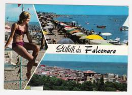 FALCONARA - Saluti Da, Vedute, PIN UP - Cartolina FG C V 1973 - Italia
