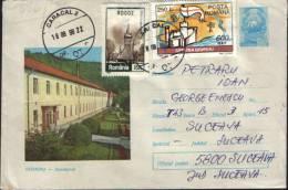 Romania-Postal Stationery  Envelope 1972-Geoagiu Sanatorium. - Medicina