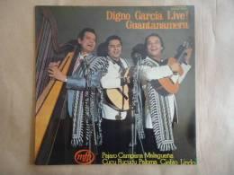 DIGNO GARCIA LIVE! GUANTANAMERA  33T LP EMI - 046 -1314 - Non Classés