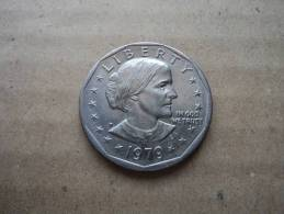 "U.S.A. -  1 DOLLARO 1979 ""SUSAN B. ANTHONY"" - - Federal Issues"