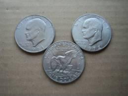 "U.S.A. -  1 DOLLARO 1971 E 1972 "" EISENHOWER"" - - Emissioni Federali"