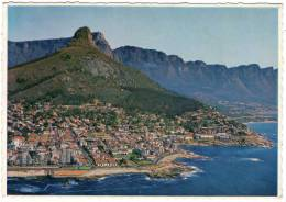 SOUTH AFRICA/SUD AFRICA/SUID AFRIKA - AERIAL VIEW OF SEA POINT AND BANTRY BAY, CAPE TOWN (PHOTO ARTHUR ENGLISH) - South Africa