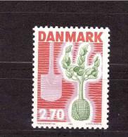 DENMARK 1984 Campaign For Tree Michel Cat N° 799  Mint No Gum - Plants