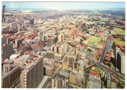SOUTH AFRICA/SUD AFRICA/SUID AFRIKA - JOHANNESBURG VIEW FROM J.G.STRIJDOM MICROWAVE TOWER/THEMATIC STAMP-FISH - South Africa