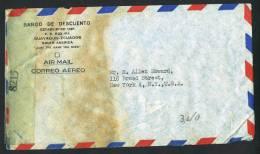 1943  Air Mail Censored Letter To USA  Sc 393, 434, C84, RA 48A, RA55 - Ecuador