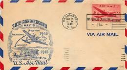 1948  30th Anniversary  US Air Mail  Sc C32 - Air Mail