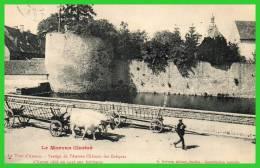 Le Morvan Illustré.La Tour D´Auxois.Vestiges De L´Ancien Château Des Evéques D´Autun....-(recto Verso) - Saulieu