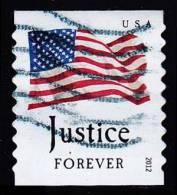 Etats-Unis / United States (Scott No.4634 - Drapeau / US / Flag) (o) Roulette / Per. 9 1/2  / Coil - Gebruikt