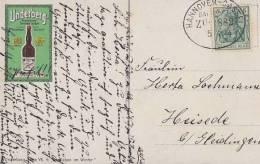 DR Underberg-AK Serie VII. 4 EF Minr.85I Bpst. Hannover-Kassel 5.4.14 Zug 882 - Deutschland