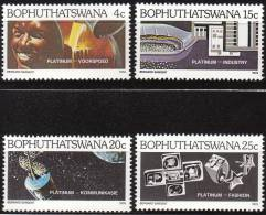 """BOPHUTHATSWANA  47-50  """"Platin""""    MNH / ** / Postfrisch - Bophuthatswana"""
