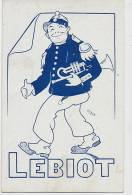 Lebiot Comique Troupier Par Zarum  Tourlourou Autographe 197 Fg St Martin Pars 10 Eme - Kabarett