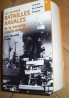 LIVRE:LES GRANDES  BATAILLES NAVALES DE LA 2° GUERRE MONDIALE LE DRAME DE LA MARINE FRANCAISE DE 1939 A 1945 DE JEAN JAC - Francese