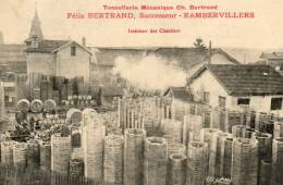 RAMBERVILLERS Tonellerie Mécanique Ch BERTRAND Intérieur Des Chantiers - Rambervillers