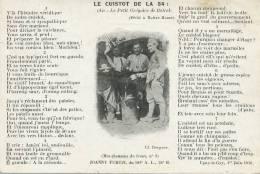Ugny Le Gay 1ere Juin 1916 Chanson Du Front  Joanny Furtin. Le Cuistot De La 34 Censuré Dijon - France