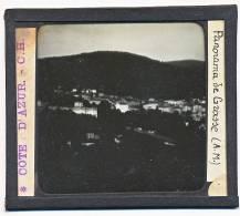 Grasse Alpes Maritimes Photo Reelle Plaque De Verre Format 10 Par 8,5  Panorama - Glasdias