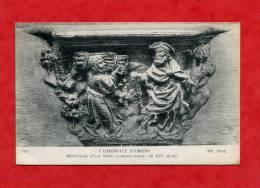 * AMIENS-LA CATHEDRALE D´AMIENS-Miséricorde D´une Stalle(Commencement Du XVIè Siècle) - Amiens