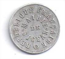 SIGEAN - Aude - 10 C 1917 - Monetary / Of Necessity