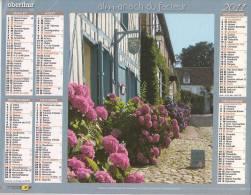 Calendrier Du Facteur 2011 ( Maisons à Colombage Et Hortensias - Gerberoy Oise ) - Formato Grande : 2001-...