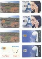 Lot De 8 Télécartes FRANCE (6) - Télécartes