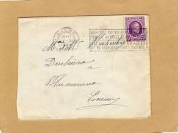 Enveloppe Cover Brief  Houyoux Liège Esneux + Flamme - 1922-1927 Houyoux