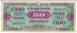 France - AMC - P122b - 1944 - VF - Treasury