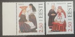 Estonia 1996 MNH - Folk Costume ( Reigi & Emmaste ) - Estonia