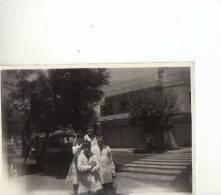 SALIENDO DEL COLEGIO NIÑOS JUNTO A SU MAESTRA 1960  6X8 ARGENTINA  OHL - Anonymous Persons