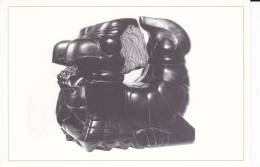 """""""Achille"""", Sculpture (marbre Noir De Belgique) De Daniel Polliand, 1987. - Sculture"""
