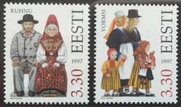 Estonia 1997 MNH - Folk Costume ( Ruhnu & Vormsi ) - Estonia