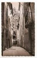 Entrevaux -(cpsm/pm/nb) - Vieille Rue  (plan Rapproché Sur Un Balcon En Fer Forgé) - Zonder Classificatie