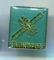 PINS GRUNDFOS POMPES / VERT - Merken